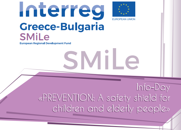 "Info-Day ""PREVENTION: A safety shield for children and elderly people"""